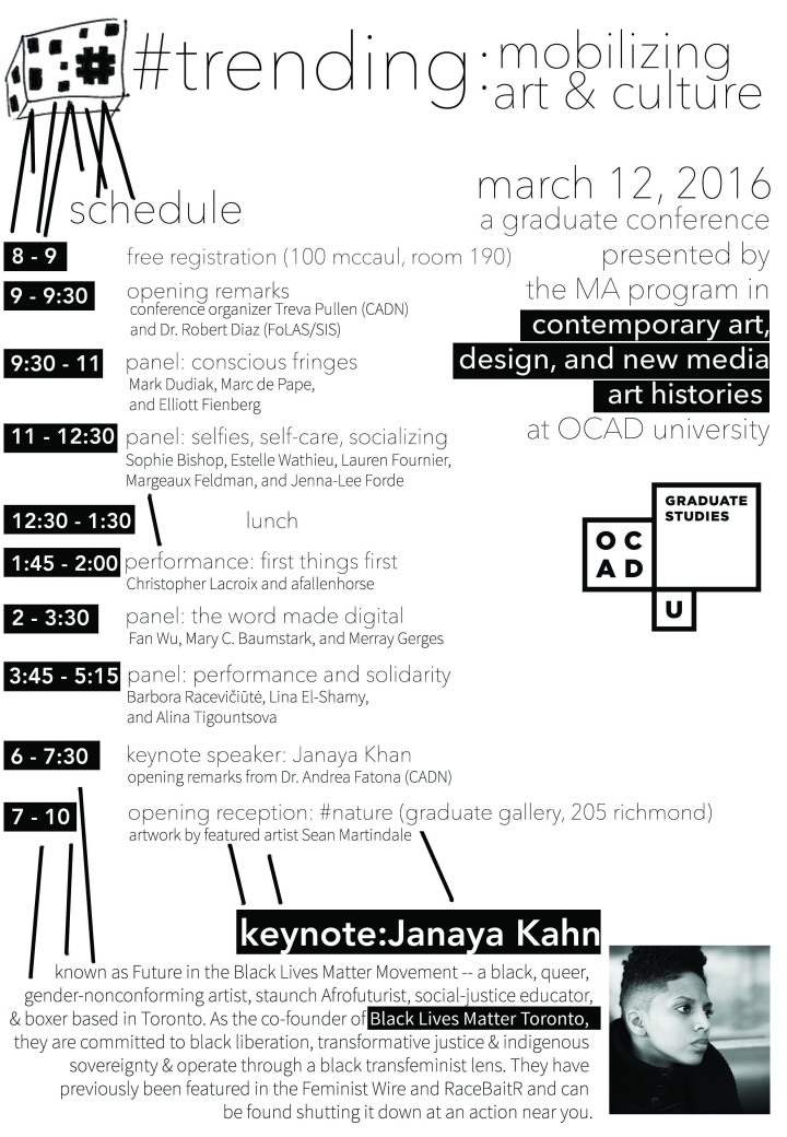#trending: mobilizing art & culture poster