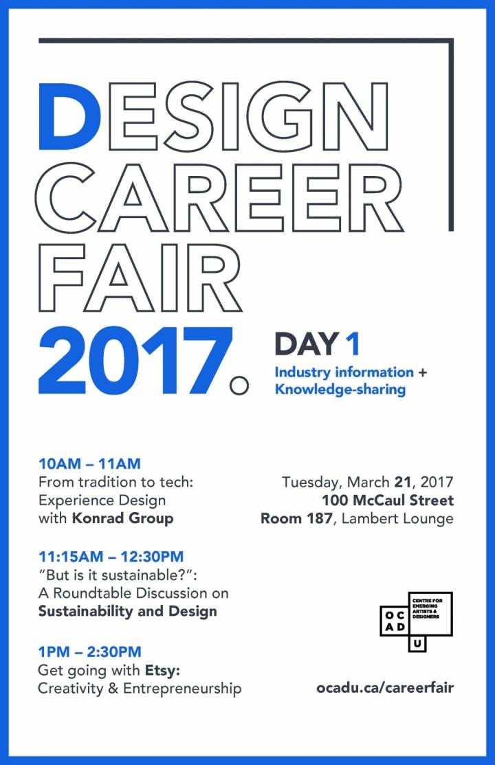 Design Career Fair Day 1