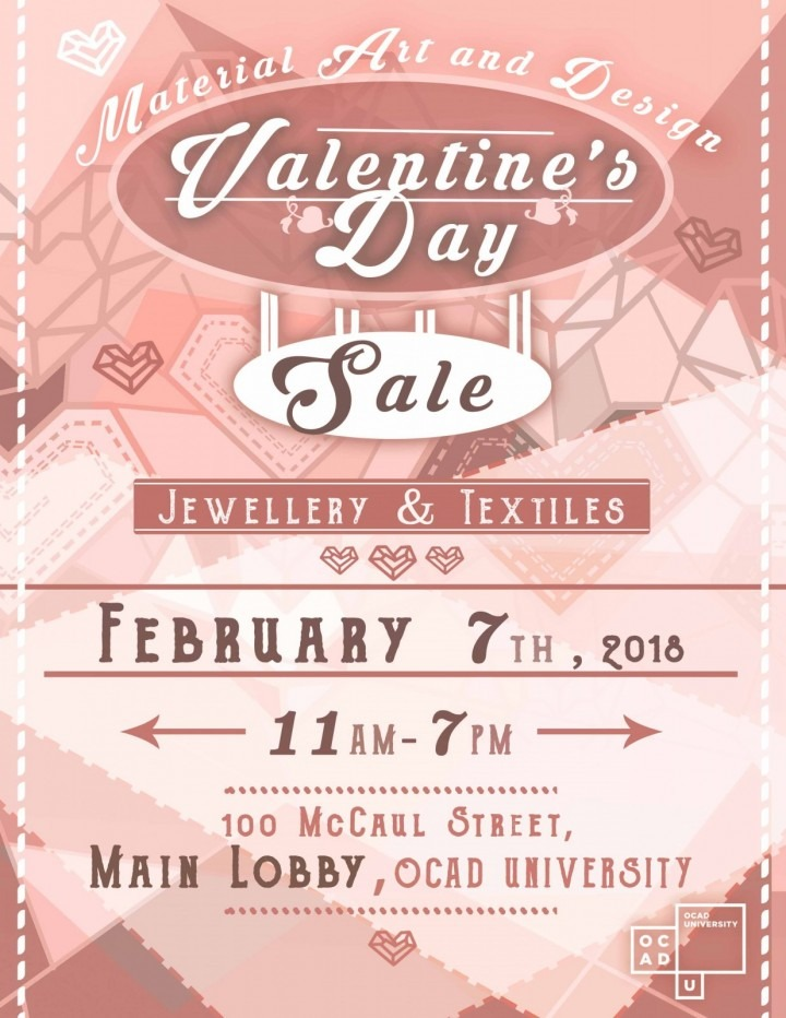 Material Art & Design Valentine's Day Sale