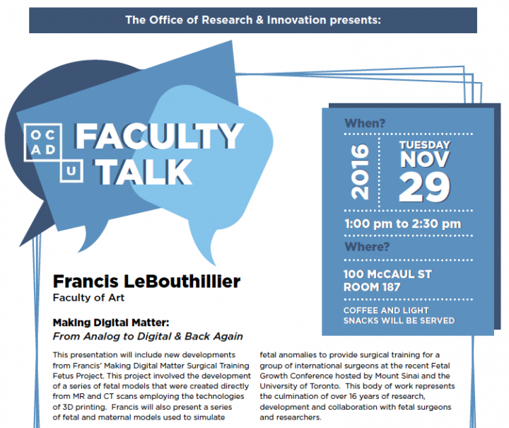 Faculty Talk
