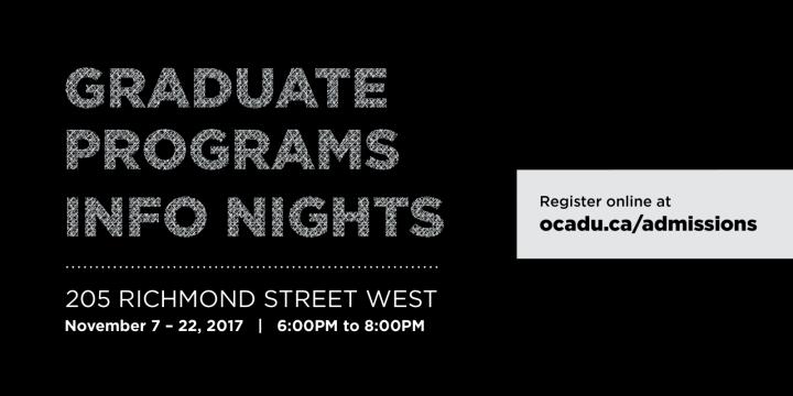 Graduate Program Info Nights