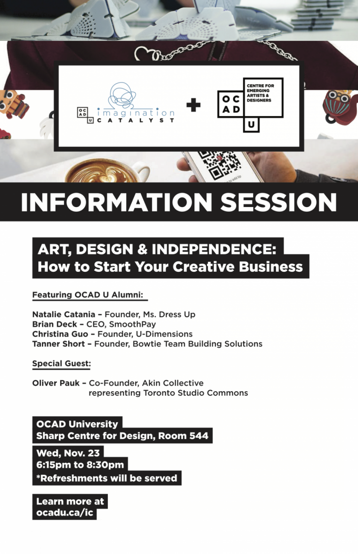 IC & CEAD Info Session Poster