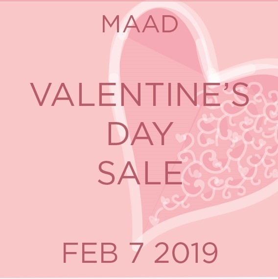 MAAD Valentine's Day Sale