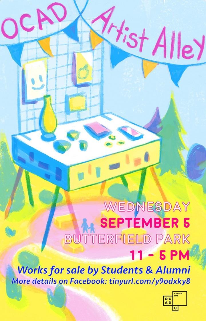Artist Alley poster