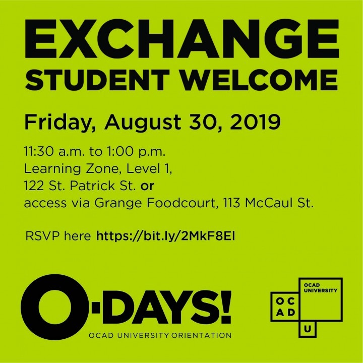Exchange Welcome graphic