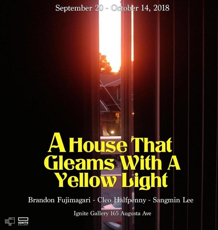 An exhibition by  Brandon Fujimagari, Cleo Halfpenny, Sangmin Lee