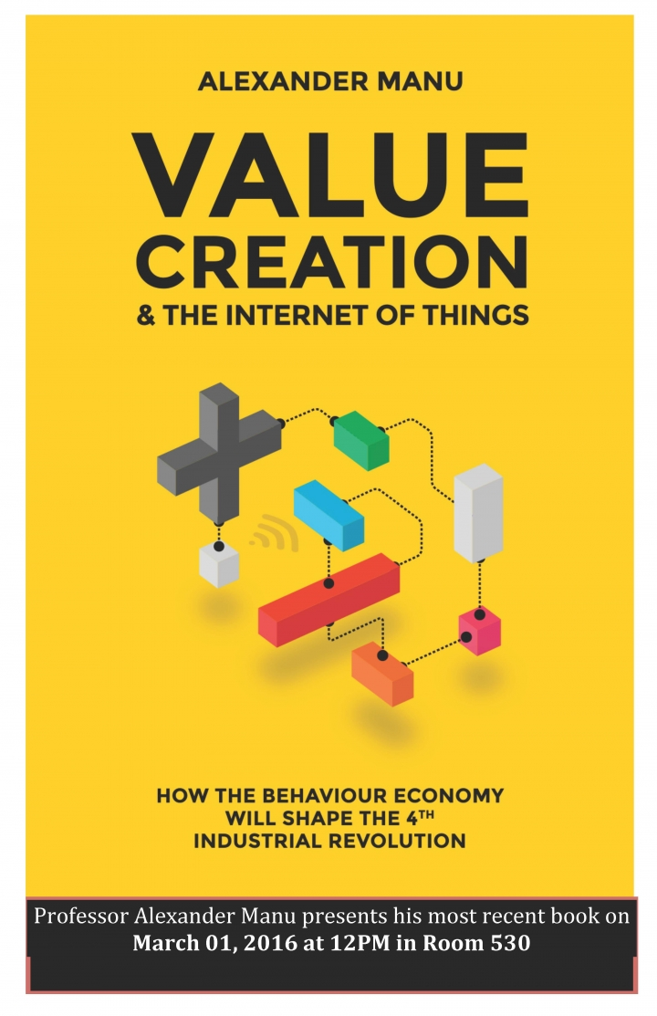 Value Creation & The Internet of Things by Alexander Manu book cover