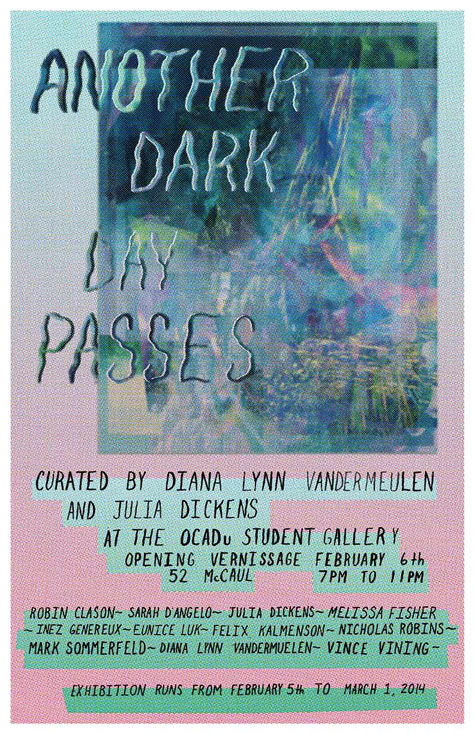 Another Dark Day Passes Poster with event info