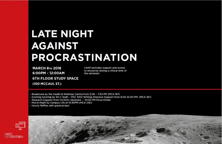 Late Night Against Procrastination (LNAP)