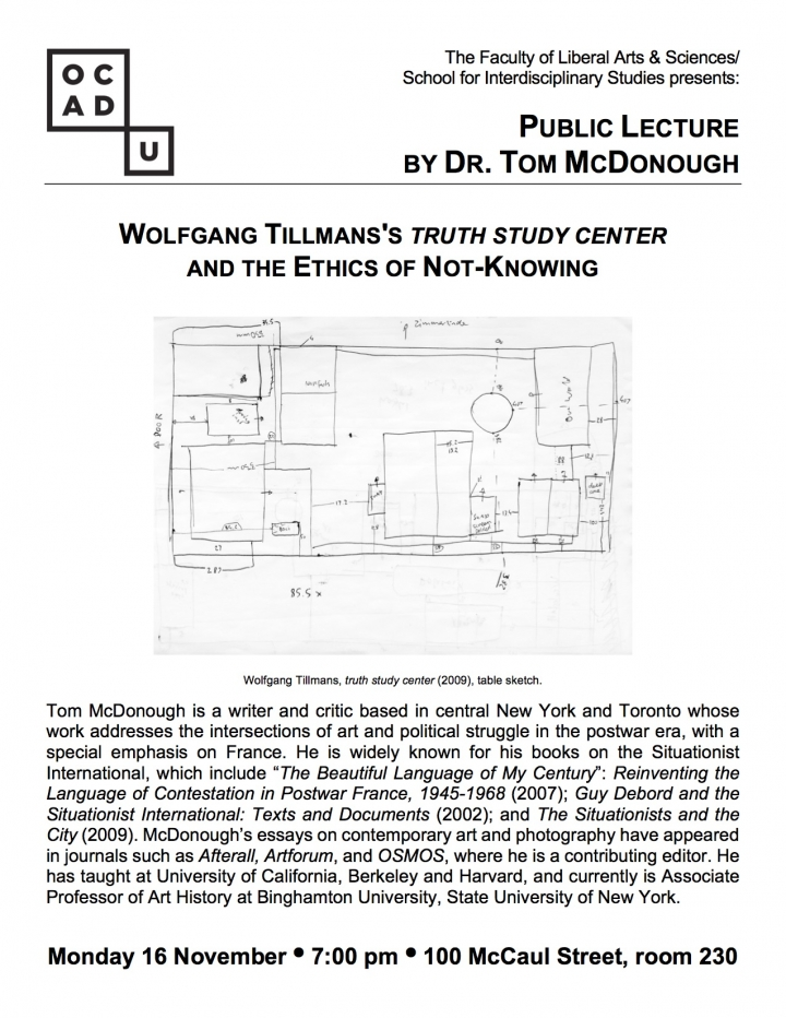 Tom McDonough Poster