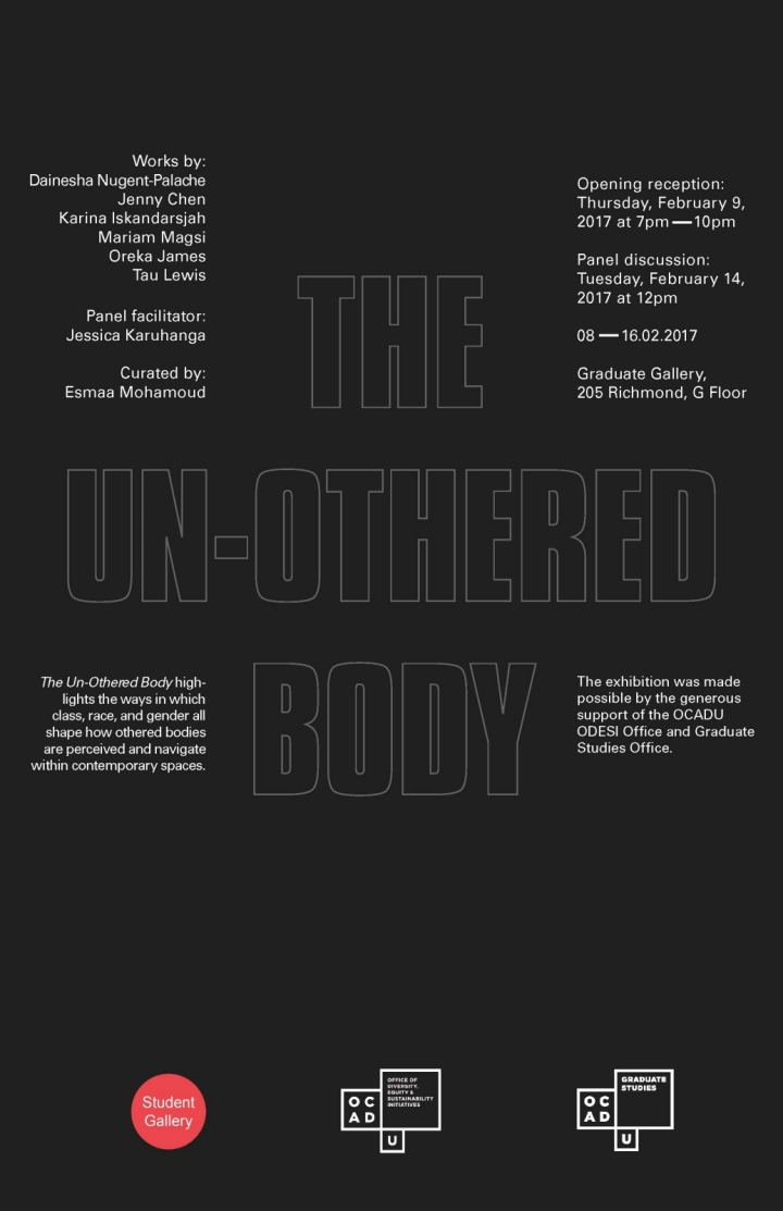 The Un-Othered Body poster