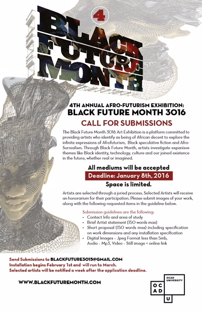 poster for the call for submissions