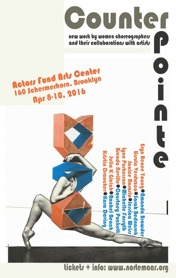 poster for CounterPointe with figurative image