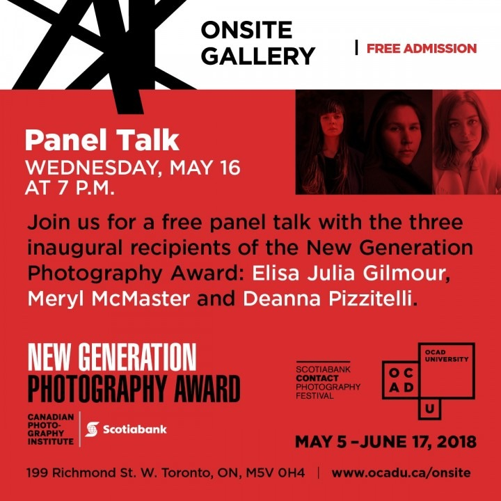 Elisa Julia Gilmour, Meryl McMaster and Deanna Pizzitelli