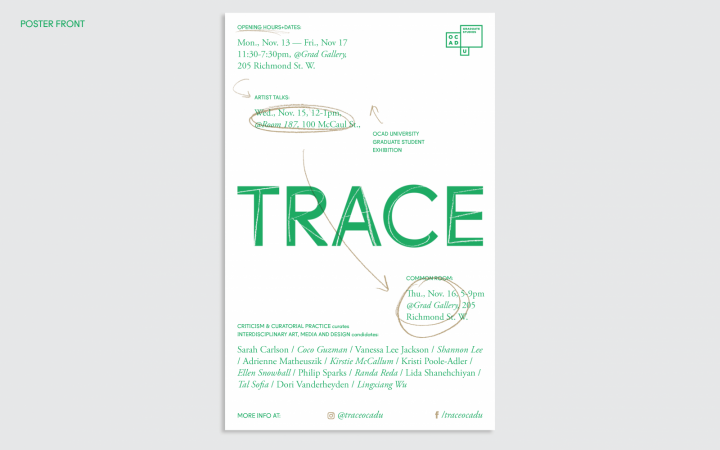 TRACE Poster