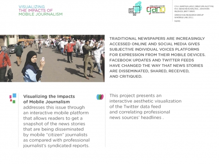 Visualizing the Impacts of Mobile Journalism Page 8