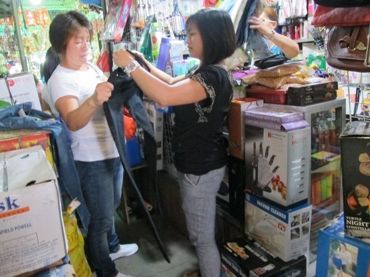 Photograph of Bagiuo City Public Market vendors working