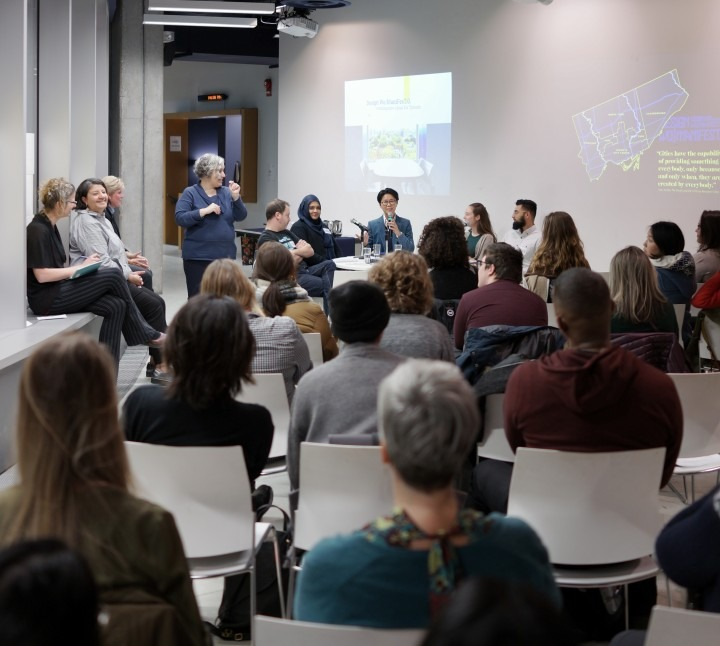 Photo of Project Launch with Panel Discussion and Open Mic at Open Gallery 49 McCaul St