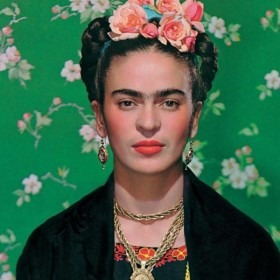 Portrait of the artist Frida Kahlo