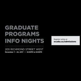 Graduate Programs Info Nights