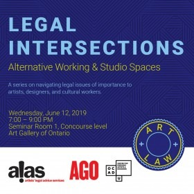 Legal Intersections #2 | Alternative Working & Studio Spaces