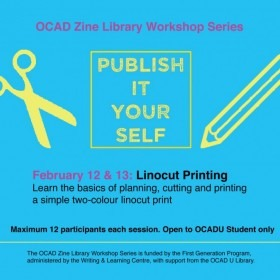 OCAD Zine Library Workshop Series