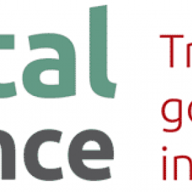 """Large text reading """"Digital Governance: transforming government practice in the diigtal era"""""""
