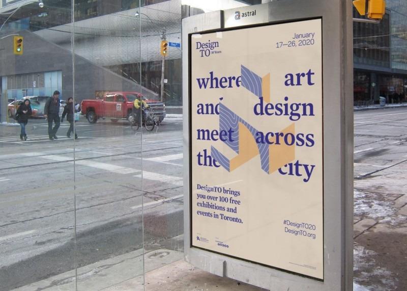 DesignTO bus advertisement rendering.