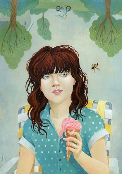 Courtney Barnett (by Jody Hewgill)