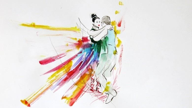 "IAMD Alumna Iveta Karpathyova introducing MDes Thesis, ""Phases of Dance,"" via @CBCArts"