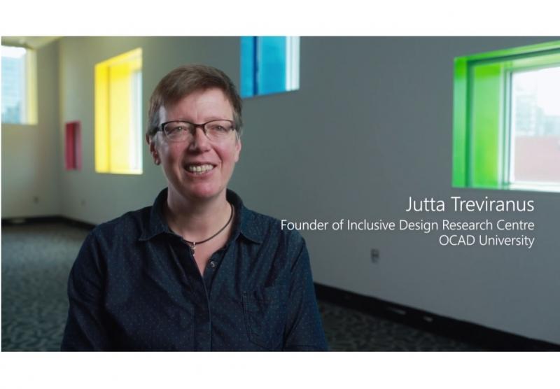 Photo of Jutta Treviranus, Director IDRC