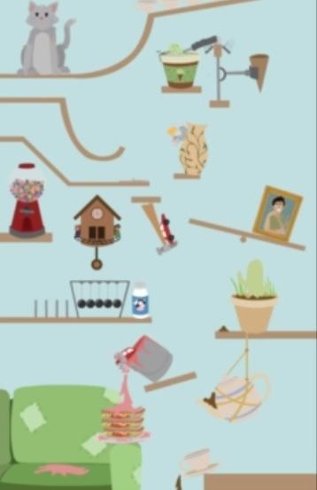 Image from Rube Goldberg Machine Created by Unfortunate Mishaps