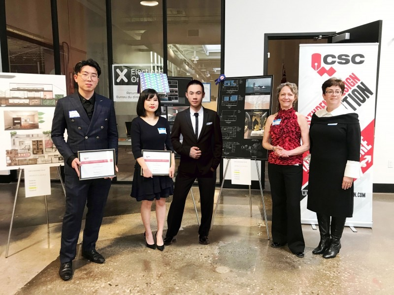 CSC competition winners - third place