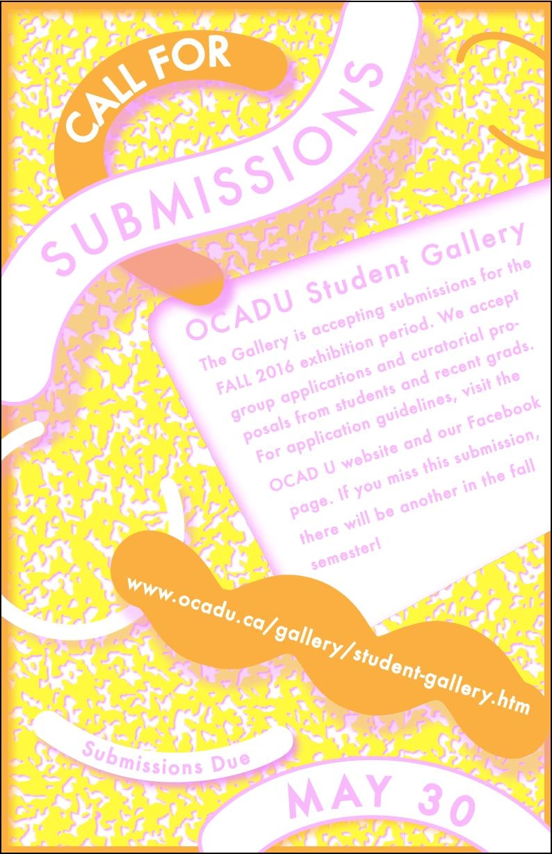 Student Gallery Call For Submissions!