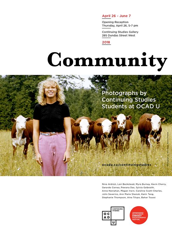 Poster - Community Exhibition