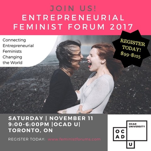 Entrepreneurial Feminist Forum 2017