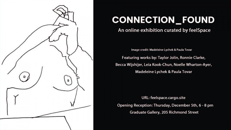 Connection_Found: An online exhibition curated by feelSpace