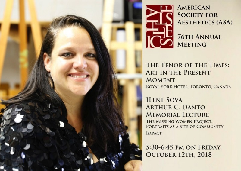 Photo of Ilene Sova on Arthur C. Danto Memorial Lecture Poster