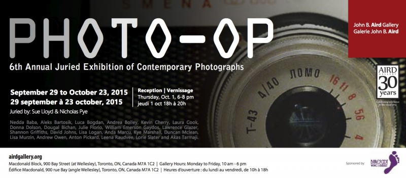 poster for Photo-Op juried show
