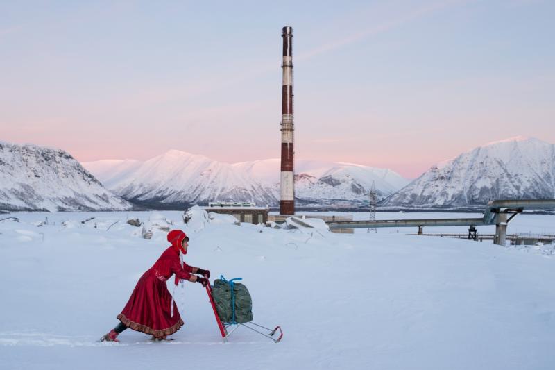 Image: Marja Helander, Dolastallat (To have a campfire), 2016. Video still. Courtesy of the artist.