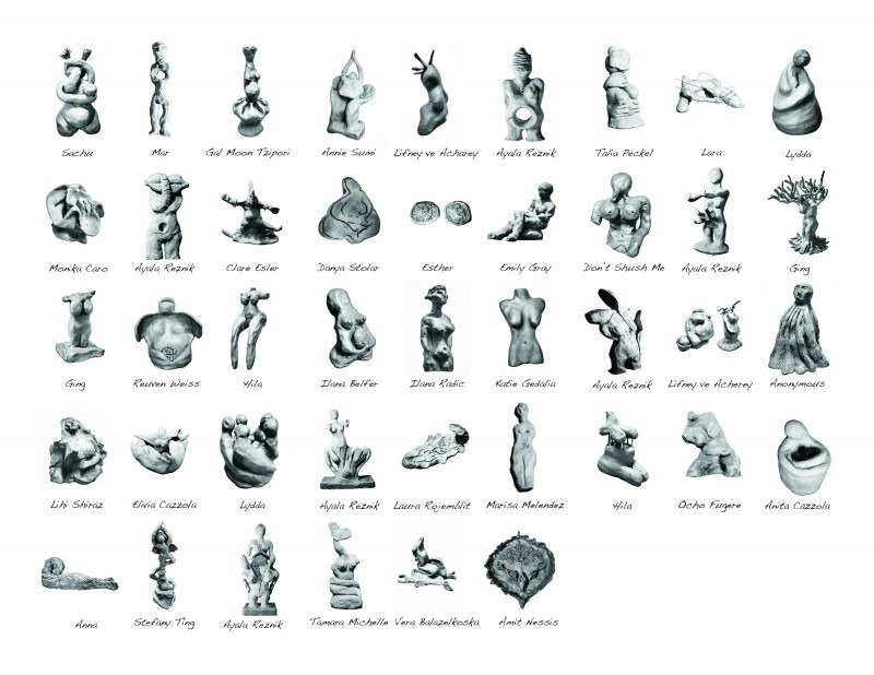images of primative figurative sculpture works