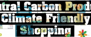 Neutral Carbon Project : Climate friendly shopping Poster