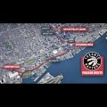 Map of the Toronto Raptors Parade Route