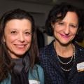 Carol Weinbaum with Sara Diamond