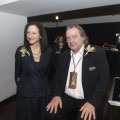 President Sara Diamond standing next to Will Alsop