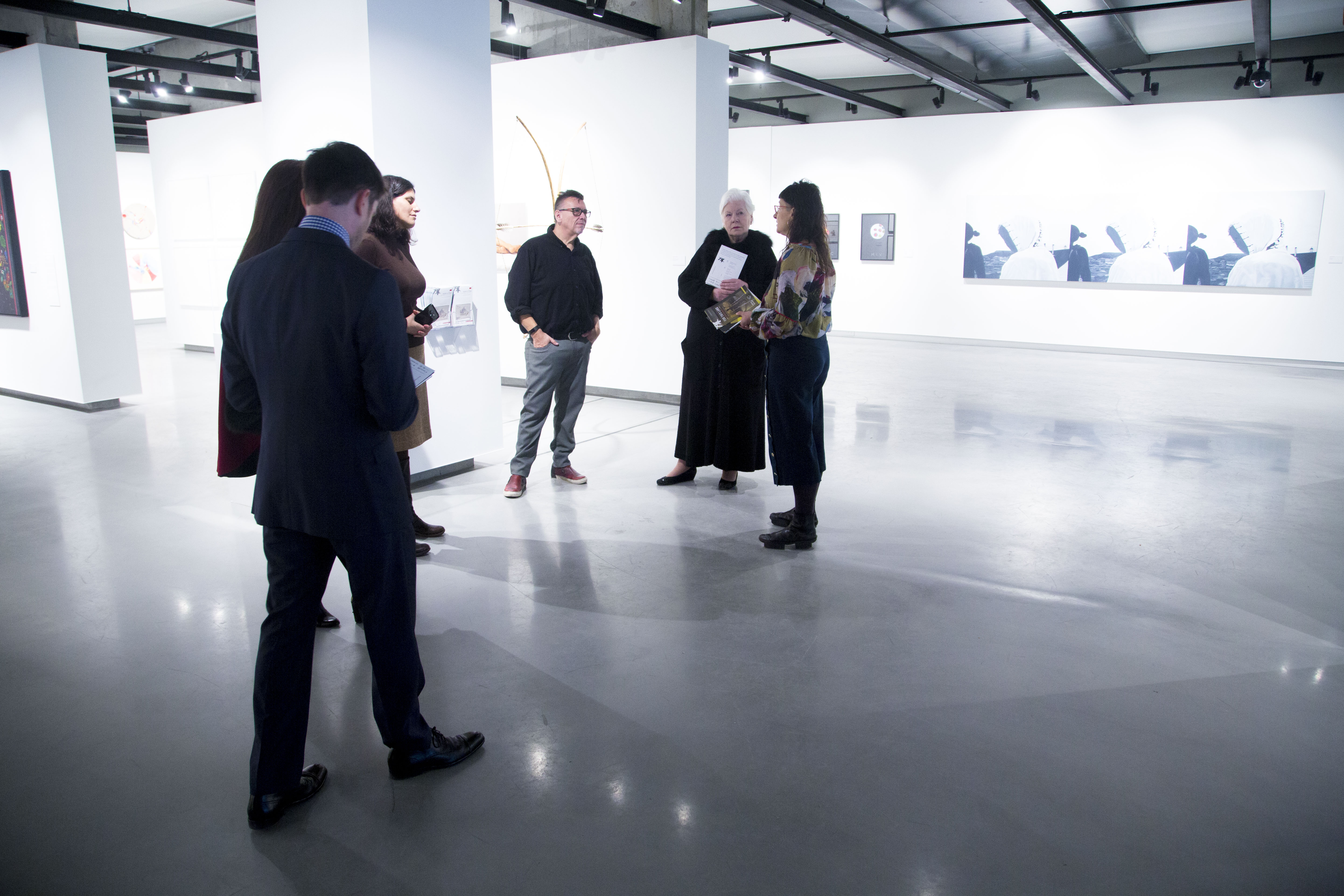 The Honourable Elizabeth Dowdeswell visits Onsite Gallery