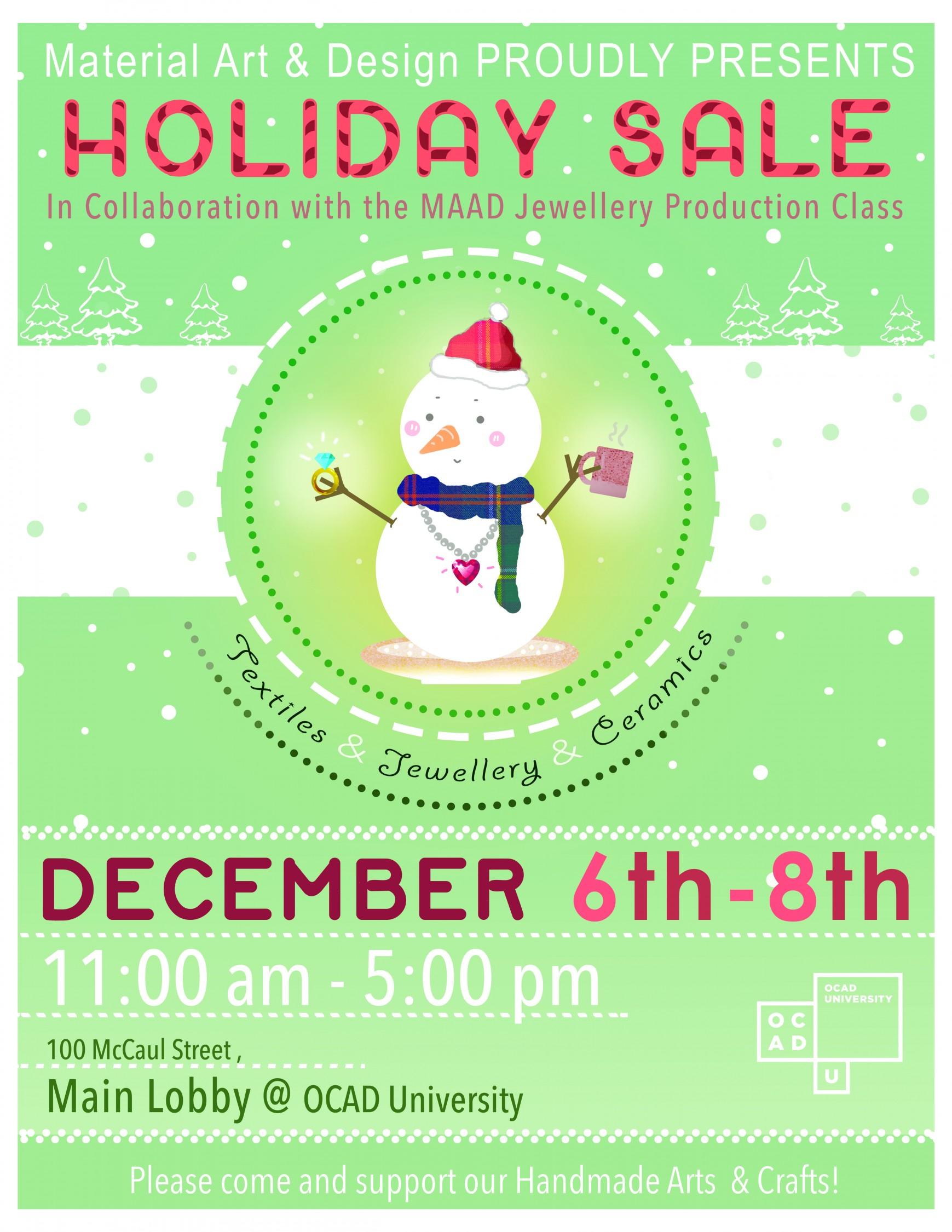 MAAD Holiday Sale