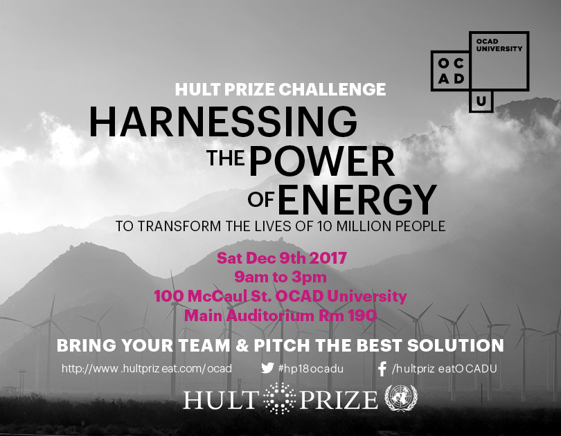 Hult Prize 2018 Quarter Final Campus Competition At Ocad