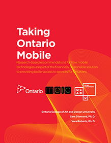 Taking Ontario Mobile Poster