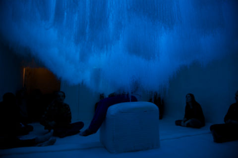 """""""Fall of The Walled Garden,"""" by Also Collective and Mason Studio. Photo by Sarah Mulholland"""